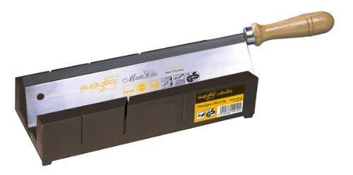 Augusta 2225 SET AMA fijne zagen set 2-delig met kunststof verstekbak 250 mm