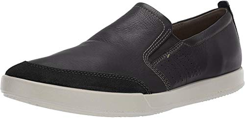 Ecco Herren Collin 2.0 Slip on Sneaker, Schwarz (Black 51052), 43 EU