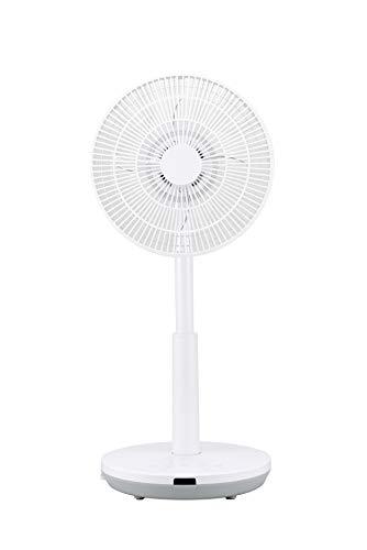 シロカ DC 扇風機 リビング サーキュレーター SF-C151 ホワイト[アロマ/リモコン付き/逆回転モード/風量8段階/省エネ]