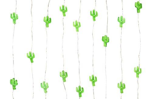 Talking Tables Lichterkette mit Kakteen für tropische Partys, 3m