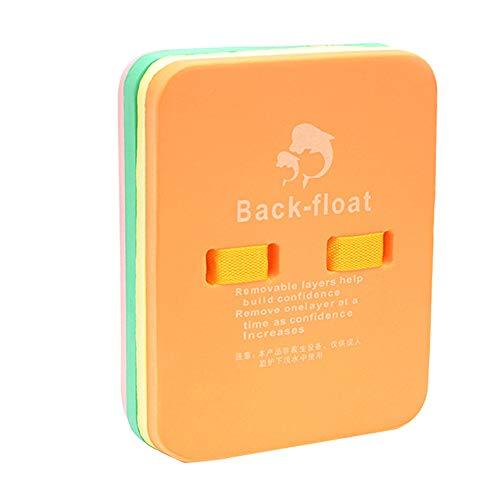 TreeLeaff Tabla de natación Kickboard Back Flotante Plate Ligero EVA Entrenamiento Ayuda en la Piscina para Adultos y Niños