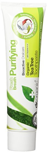 Dr Organic Tea Tree Toothpaste 100ml by Dr. Organic