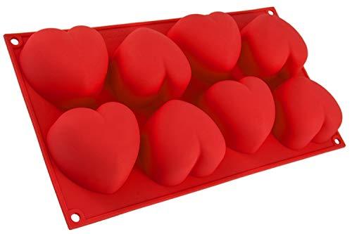 Blue Fox Moule en Silicone avec cœurs, 55Mignon Petit cœur, Moule en Silicone,...