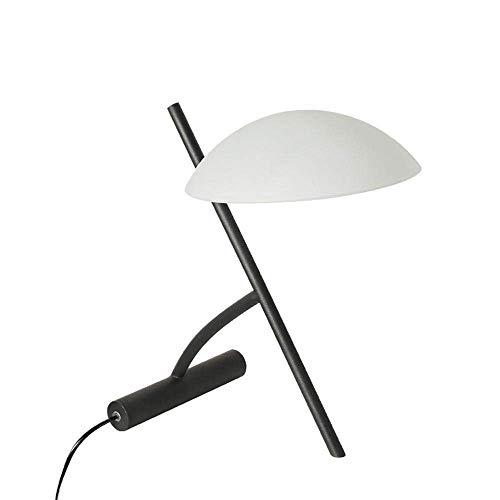De enige goede kwaliteit decoratie moderne, Scandinavische, minimalistische, industriële tafellamp, nachtlampje met gebogen lampenkap, ijzeren lichaam voor slaapkamer, studie, decoratie, geschenk