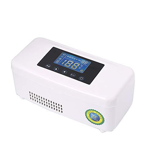 ZYFA Mini Intelligente koelkast, voor medicijnen, draagbare koelbox, temperatuurregeling