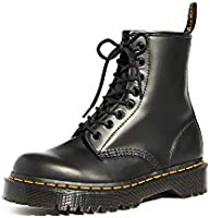 Dr. Martens Unisex 1460 Bex Smooth Leather Platform Boots, Black