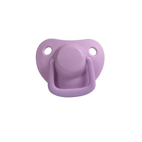 Filibabba® Schnuller 2er Set | Baby Schnuller aus Silikon in schönen matten Farben | Kiefergerechte Schnuller | Dänisches Design | 2 Stück mit Schnuller Box (Light Lavender, 0-6 Monate)