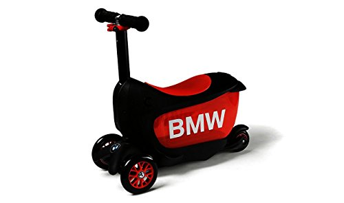 BMW Original Kids Scooter Tretroller für Kinder DREI Räder schwarz/orange Kids Kollektion 2016/2020