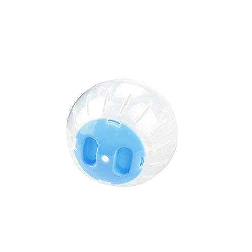 Berrywho Actividad de plástico Pet Bola Redonda de Pequeños Animales de Juguete Hamster Ratones Juguete Transparente hámster Bola Accesorios Jaula