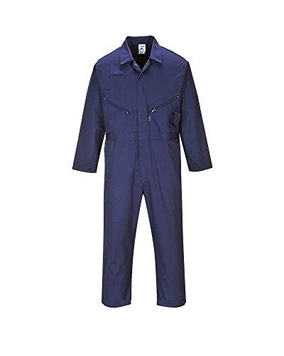 Portwest 128-134 - Mono de protección para niños y niñas, color azul marino