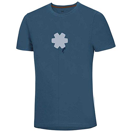 Ocun Classic T Blossom Climber - copan blue S