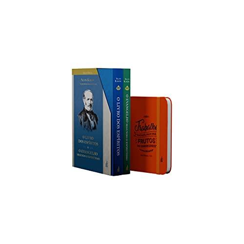 O Livro dos Espíritos + o Evangelho Segundo o Espiritismo - Box Edição Especial Capa Dura + Brinde Exclusivo Amazon. Caderno de Anotações Feb