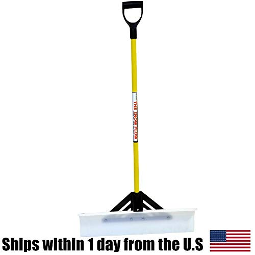 Amazing Deal 50530 The Snow Plow Shovel Pusher The SnowPlow Snow Pusher Snow Shovel 30