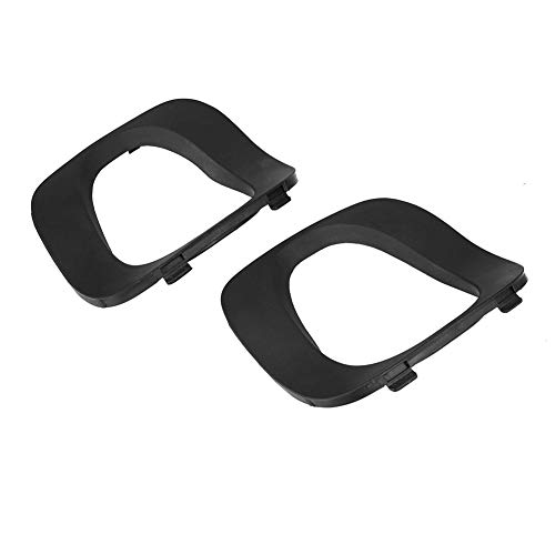 Yctze 2pcs Car Bumper Cover Tail Pipe Rear Covering, Rear Right Left Covering Trim for X5 E53 2001-2006