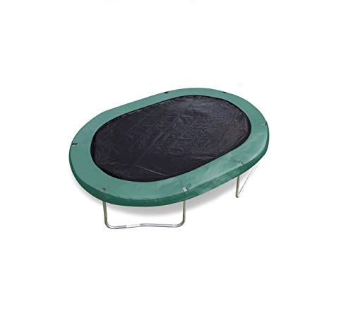 trampoline cover black oval 2,44 x 3,51 meter