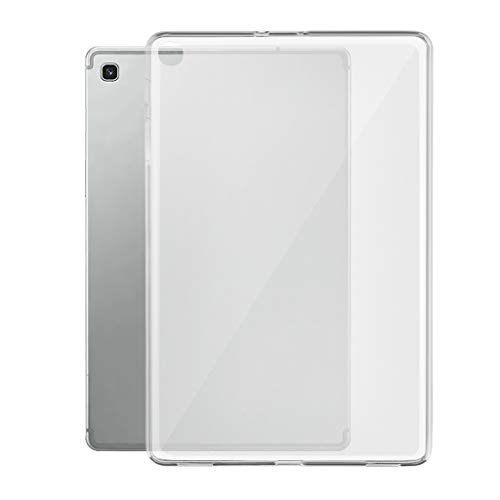 Bascar Crystal Clear Ultra Thin Transparent Silicone TPU Case for Samsung Galaxy Tab A 8.0 2019 P205/P200 Silicone Tablet Cover Cover Slim Bumper Soft Scratch-Resistant Protective Case