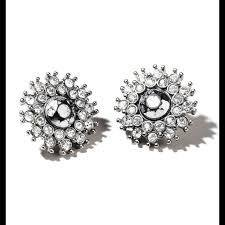 Avon mark Star Studded Earrings -- fashion statement jewelry