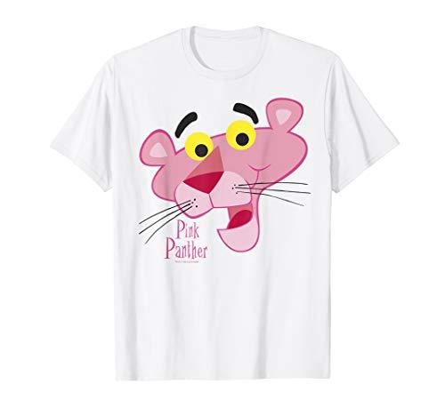 Pink Panther Face Portrait T-Shirt