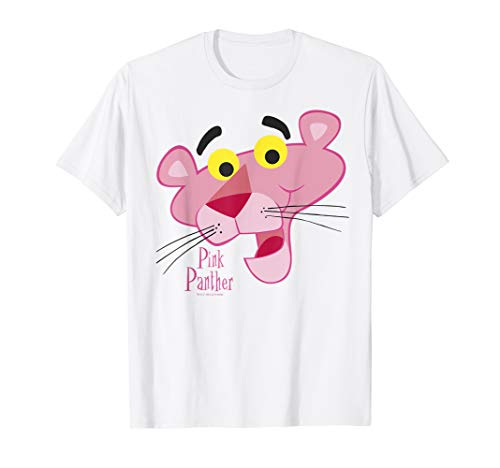 Pink Panther Face Portrait T-Shirt