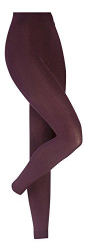 HEAT HOLDERS Damen thermische Leggings, Gamaschen, 4 Farben, 5 Größen (M Hüfte 102-112cm, Lila)