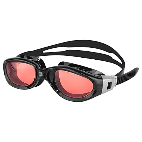 WJCCY Gafas de natación Marco de Gran tamaño Triatlón Agua Abierta Anti-Niebla Protección UV para Adultos Mujeres Mujeres (Color : C)