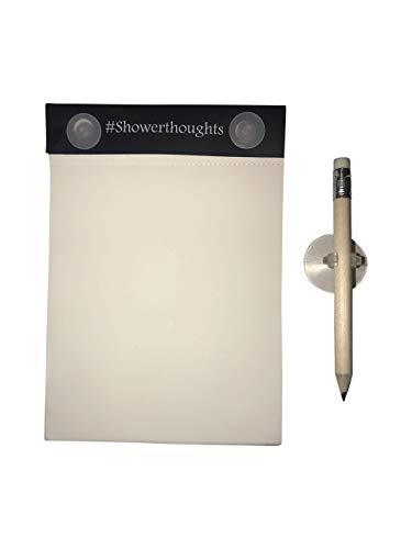 Wasserdichter Dusch-Notizblock mit Bleistift – Dusch-Notizbuch mit wasserdichtem Papier