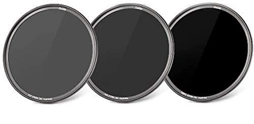 HAIDA Ultra Slim NanoPro MC ND Graufilterset 8X, 64x, 1000x - 77 mm, inkl. Stack Cap Filtercontainer