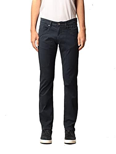 Jeckerson Pantalone in Cotone Stretch (Blu, 28)