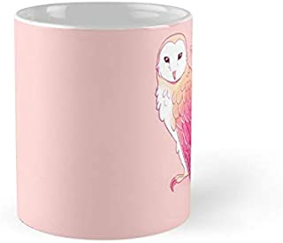 You Handle Today Encouraging Pink Barn Owl 11Oz Mug - Best Gift For Family Friends.