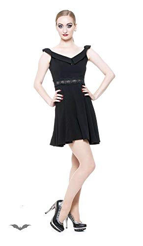 Queen of Darkness - Adams Dress S/Black