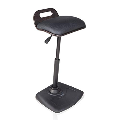 VARIDESK - Adjustable Standing Desk Chair - VARIChair - Black (VARIChair)