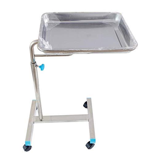 Einfache Idee Chirurgischer Tabletthalter aus Edelstahl für Den Operationssaal Wagen für Medizinische Geräte Chirurgie-Gabelhubwagen, 70110 Cm, Höhenverstellbar, T-C