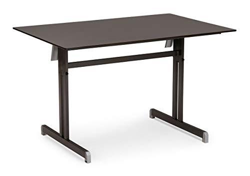 Best Klapptisch Bodega 120x80 cm anthrazit Tisch, Esstisch, Gartentisch