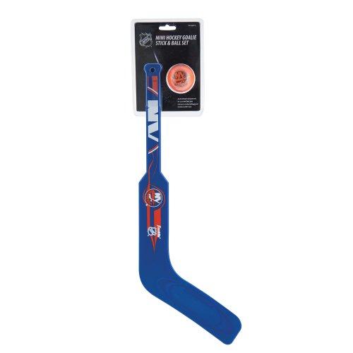 Franklin Sports NHL New York Islanders Team Mini Hockey Goalie Stick Set