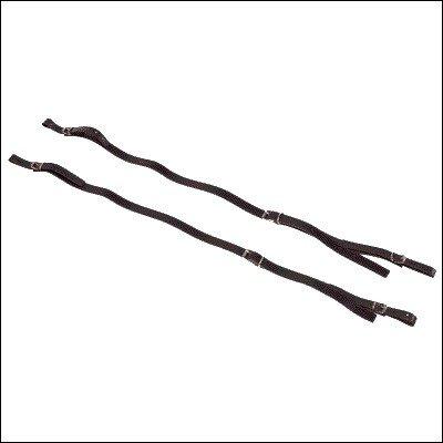 Ortola 0990-001 - Par correas acordéon diatonico, color negro
