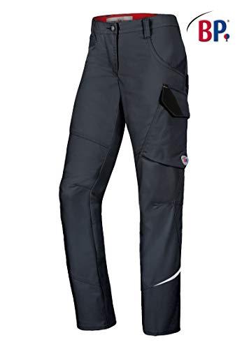 BP 1604-559-10-30n Latzhose Stretch-Hosenträger mit Clipbefestigungen 245,00 g/m² Stoffmischung, dunkelblau 30n