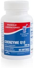 Anabolic Laboratories Coenzyme Q10 Max 53% OFF Animer and price revision Softgels 100mg 60 Formula
