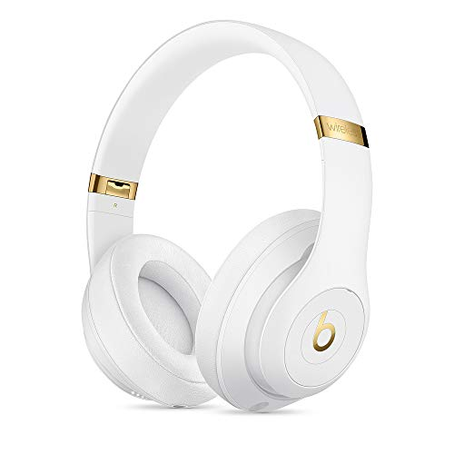 Beats S.t.u.d.i.o/3 Wireless Headphones in White with Carrying case and 3.5mm RemoteTalk Cable