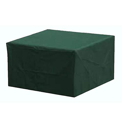 Anam Safdar Butt Cubierta de Muebles de jardín al Aire Libre Rectangular Impermeable de Tela Oxford 210D con protección UV para Mesa de Patio