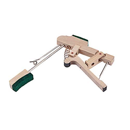 Healifty D59 Holz Klavier Hammer Hintern Tastatur Hammer Hintern Klavier Whippen Stimmwerkzeuge Reparaturteile für Musikinstrument Vertikales Klavier (Beige)