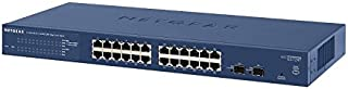 NETGEAR Switch Rack 24 Puertos Gigabit 10/100/1000 Ethernet Switch gs724t