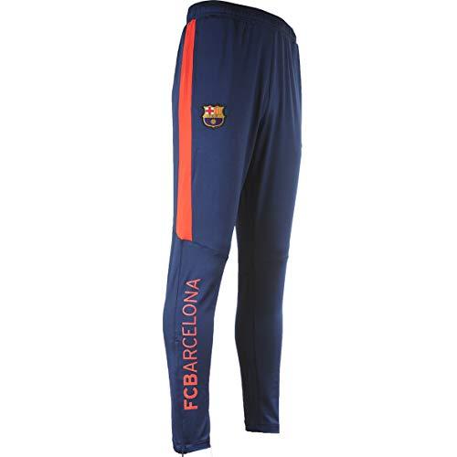 FC Barcelona Trainingshose Barça, offizielle Kollektion, Kindergröße, Jungen 14 Jahre marineblau