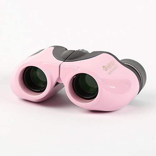 WYLOKEN Kids Verrekijker, Lichtgewicht Milieubescherming Verstelbare Zoom roze