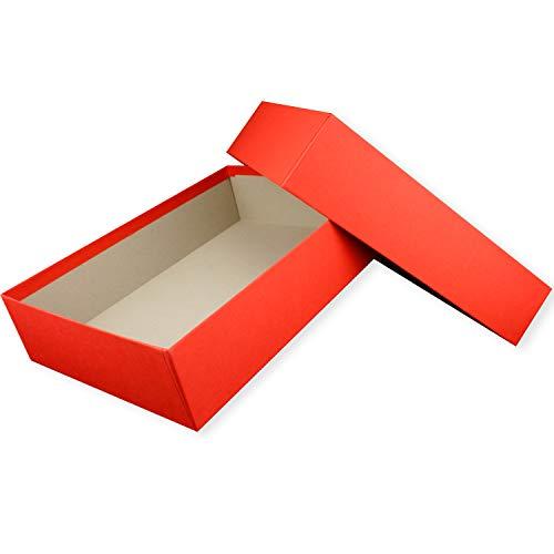 Scatole regalo di alta qualità DIN A4, con rivestimento colorato