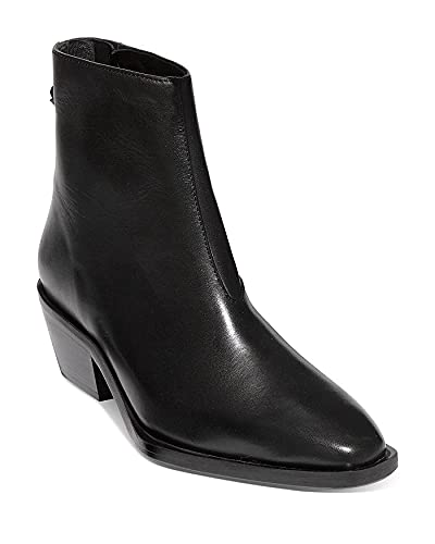 [ALLSAINTS] シューズ 27.0 cm ブーツ・レインブーツ Women's Lenora Pointed Toe Ankle Booties Black Leat レディース [並行輸入品]