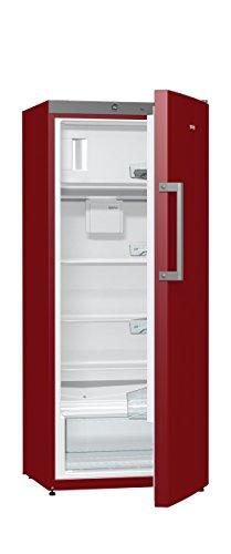 Gorenje RB 6153 BR Kühlschrank mit Gefrierfach / A+++ / Höhe 145 cm / Kühlen: 229 L / Gefrieren: 25 L / Burgundy / DynamicCooling-System / Colour Edition