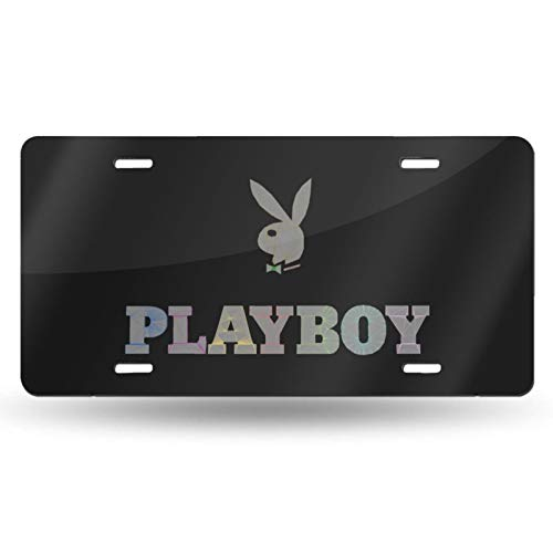 Playboy License Plate Novelty Auto Car Tag 6 Inch X 12 Inch