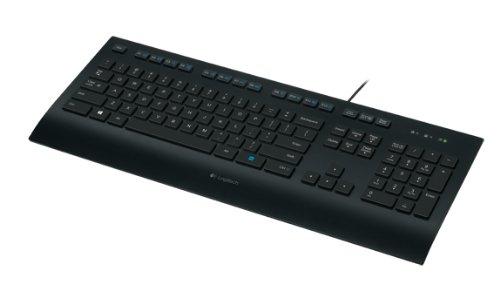 Logitech K280E FOR Business Tastatur (QWERTY, englisches Tastaturlayout)