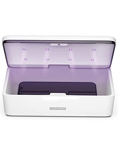 UV Light Sanitizer Box, UV-C Sterilizer Box, UV Phone Sanitizer Box for Smartphone,Jewellery and Household Items
