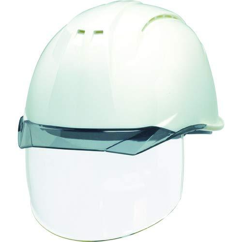 DIC 透明バイザーヘルメット(シールド面付) AP11EVO-CSW KP 白/スモーク AP11EVOCSWHA6KPWS